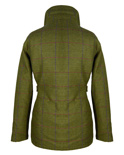 Wood Green - Women Tweed Jacket - Dark Tweed