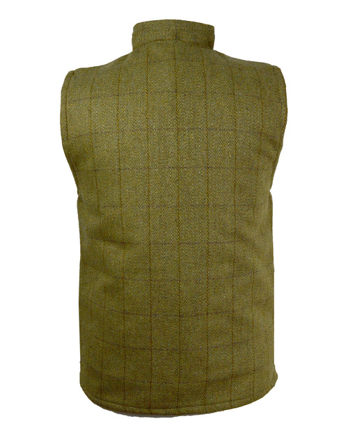 Regents View Mens Tweed Bodywarmer - Light Tweed