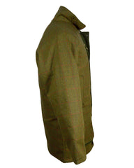 Regents View Mens Tweed Jacket - Red Tweed