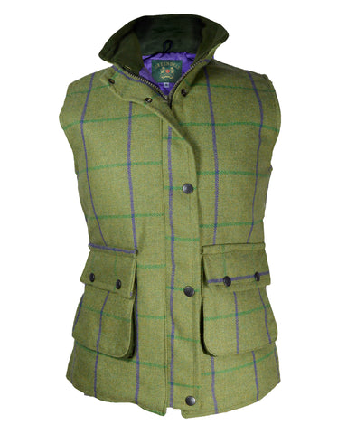 Regents View Stylish Women Tweed Jacket - Green