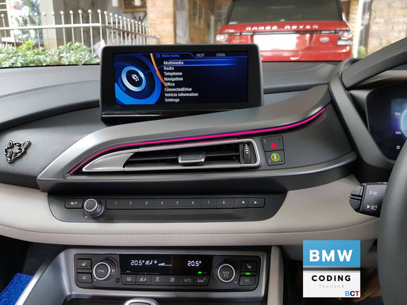 Coding Full option BMW i8 i3 iDrive NBT