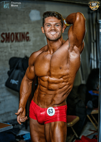 Alex Lenghel Competitive Vegan Bodybuilder
