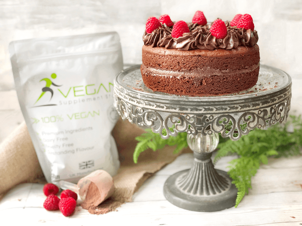 High protein vegan chocolate cake recipe