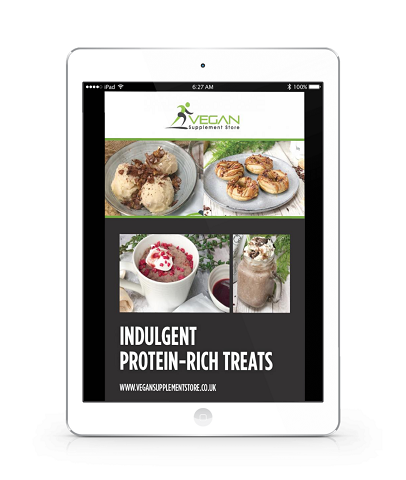 High protein vegan recipes - free PDF download