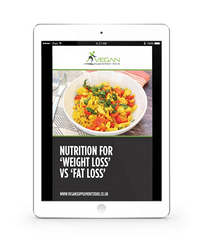 Free Guide - Nutrition for weight loss versus fat loss