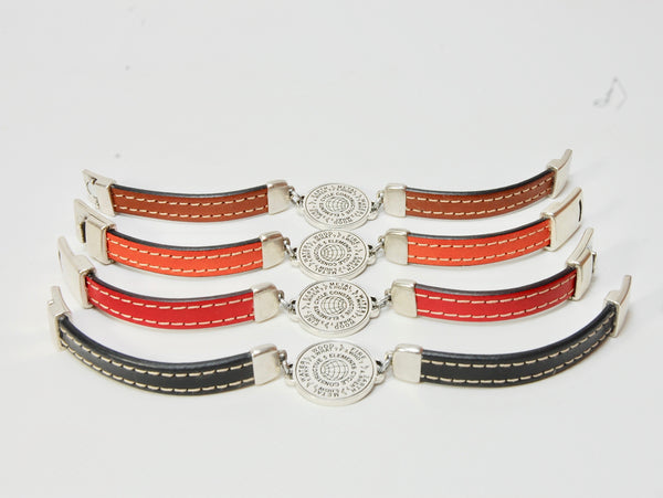 5 Elements Jewelry. Bracelet One Round - orange color*