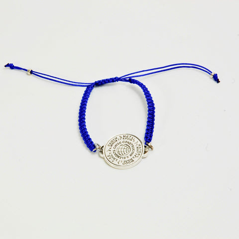 5 Elements Jewelry Macrame Bracelet blue color