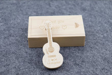 Customized Wooden Guitar USB Flash Drive