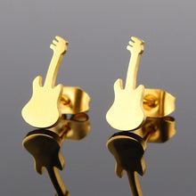 Guitar Earrings