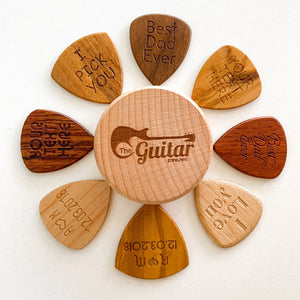 Beautiful Customized Wood Name Pick