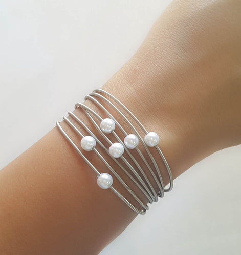 Guitar String Stretchy Bracelet Set of 10 Strings