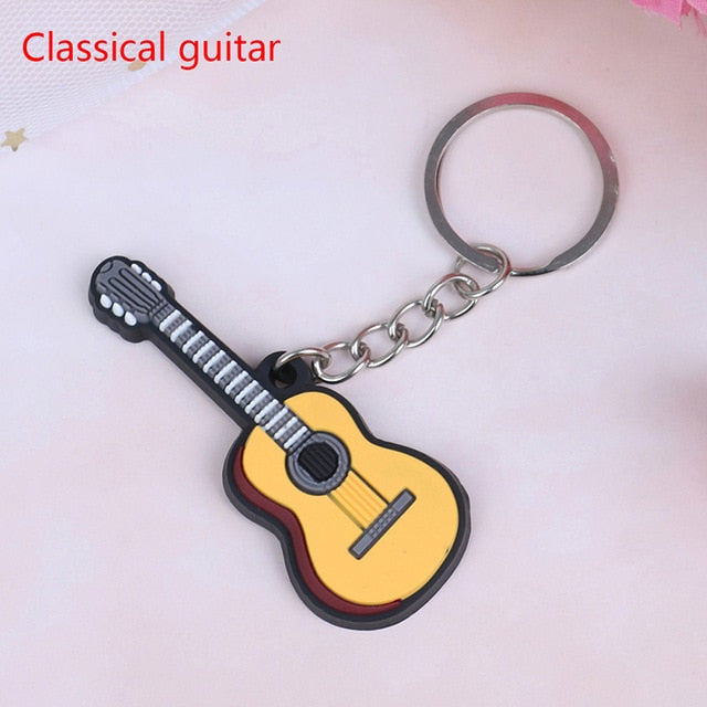 Classical Guitar Keychain
