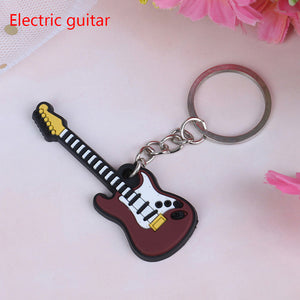 Electric Guitar Keychain