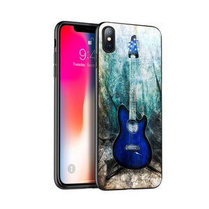 Guitar Silicone Case for iPhone