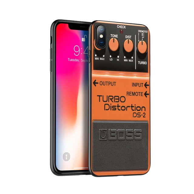 Turbo Distortion Silicone Case for iPhone