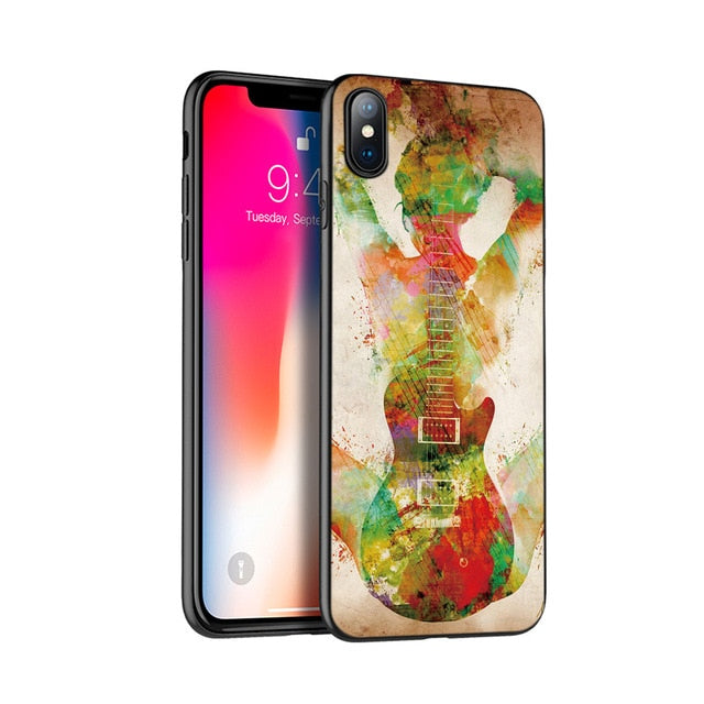 Guitar Art Case for iPhone