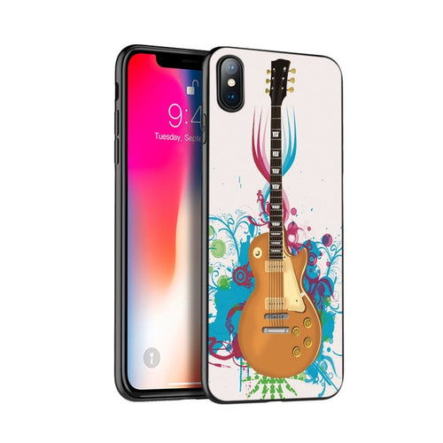Music Guitar Cover Case for iPhone