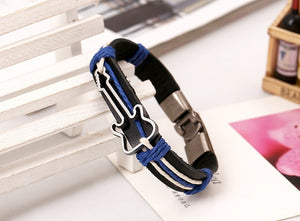Leather Guitar Bracelet For Men and Women