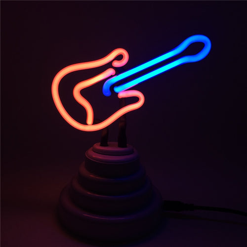 Guitar LED Night Lamp