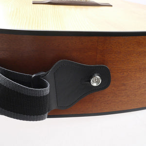 Electric Acoustic Bass Guitar Strap W/3 Pick Plectrums Holders