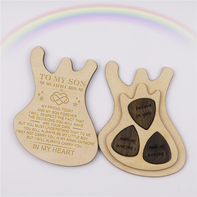 In My Heart Guitar Box With Pick