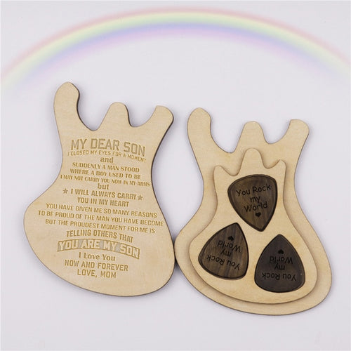 I Will Always Carry You Guitar Box With Pick