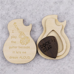 Dream Aloud Guitar Box With Pick