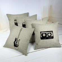 Cotton Guitar Pillow