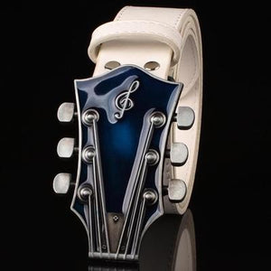 Men's Metal Buckle Retro Guitar Belts