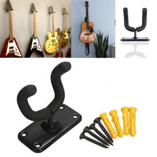 Guitar Hanger Wall Stand Easy To Install+Screws