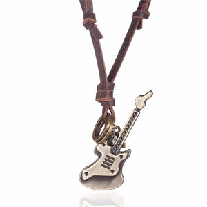 Vintage Guitar Necklaces