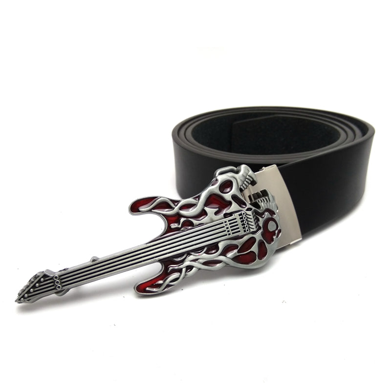 Guitar Leather Belt