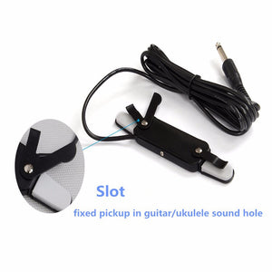 Acoustic Guitar Transducer Amplifier Pickup Sound Hole
