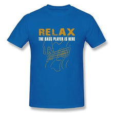 Relax The Bass Player Is Here T-Shirts for Men