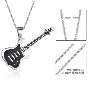 Trendy Guitar Necklace
