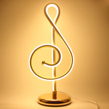 Musical Notes Lamp