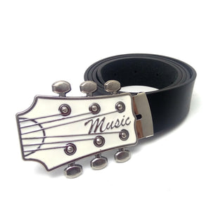 Guitar Music Mens Belt