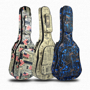 Guitar Case with Shoulder Straps Easy Carry  Waterproof Protective -FREE SHIPPIMG!