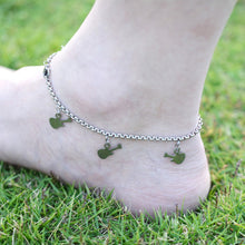 Guitar Stainless Steel Anklet Chain Foot Bracelet