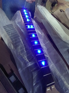 Maple Electric Guitar Neck Inlay LED Lights