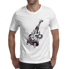 Octopus Twisting Electric Guitar T-Shirt