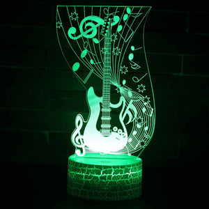 3D Lamp LED night light 7 Color Change