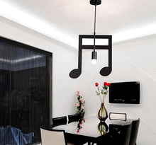 Creative Music Notes Pendant Lamps