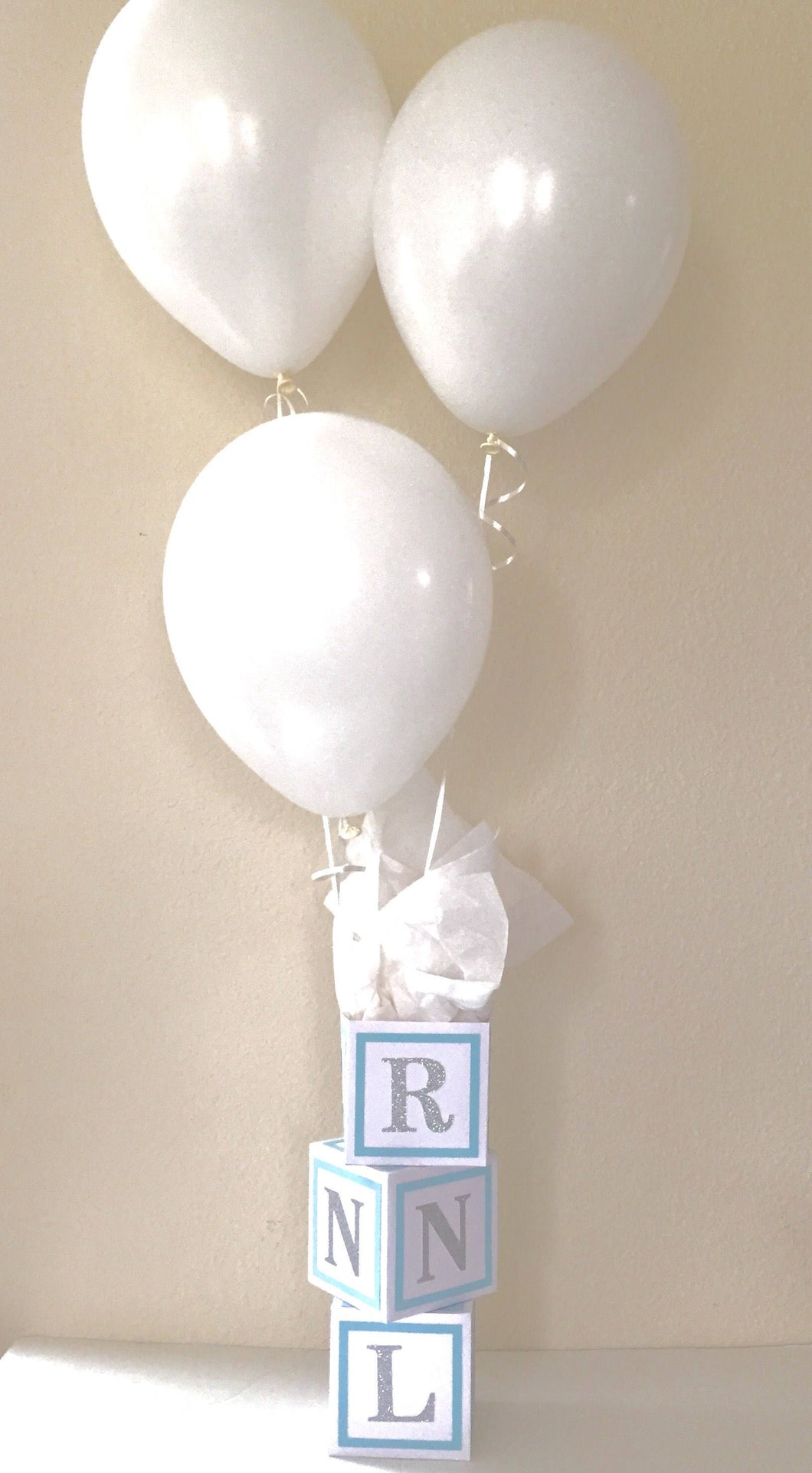 baby boy baby shower decorations table decorations, blue and white decorations