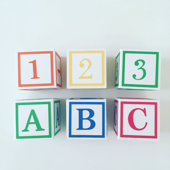 abc block decorations, party decorations, baby shower decorations, toy story theme, sesame street party theme