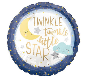 Twinkle Twinkle Little Star Balloon, Baby Shower Decoration, Birthday Party