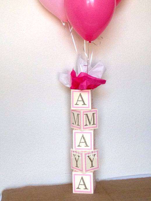 baby shower centerpieces baby girl pink and ivory