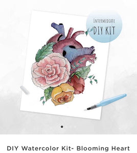 DIY Blooming Heart Painting Kit Fundraiser