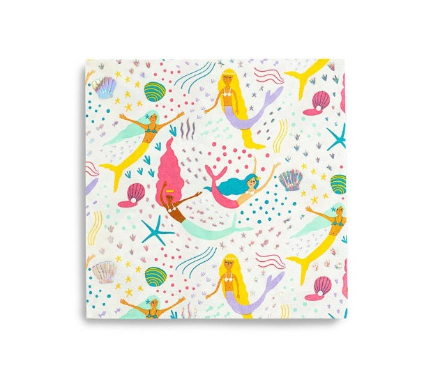 Mermaid Party, Under the Sea Napkins