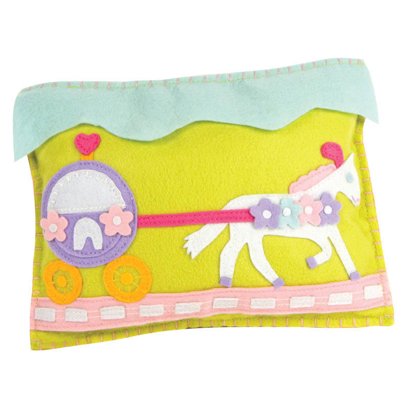 Pony and Carriage Tooth Fairy Pillow